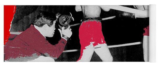 Film Noir Cinematographer James Wong Howe John Garfield Body And Soul 1947 Color Added 2013 Yoga Mat
