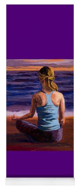Finding Peace Sukhasana Yoga Mat