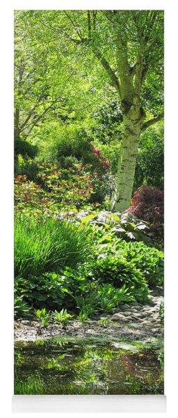 Finnerty Gardens Pond Yoga Mat