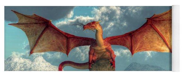 Fire Dragon Yoga Mat