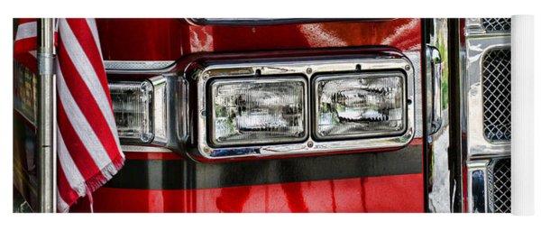 Fireman - Fire Engine Yoga Mat