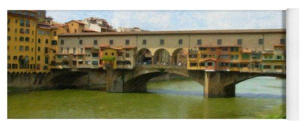 Firenze Bridge Itl2153 Yoga Mat