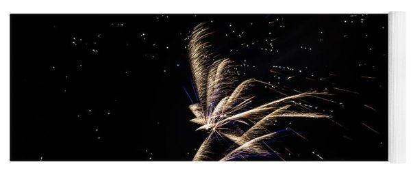 Fireworks - Dragonflies In The Stars Yoga Mat