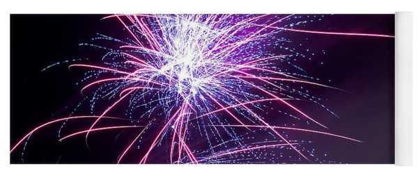 Fireworks - Purple Haze Yoga Mat