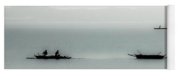 Fishing On The Philippine Sea   Yoga Mat