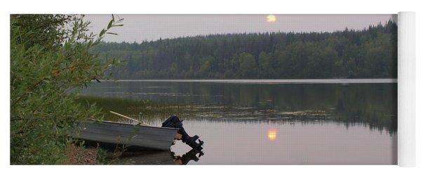 Fishing Tranquility Yoga Mat