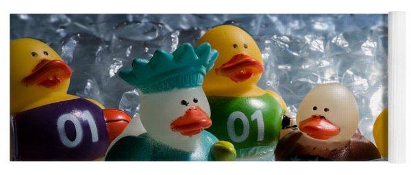 Five Ducks In A Row Yoga Mat