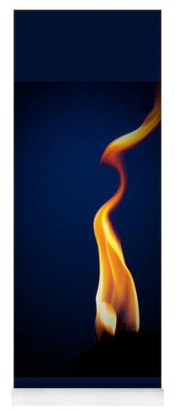 Flame Yoga Mat