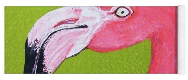 Flamingo Head Yoga Mat