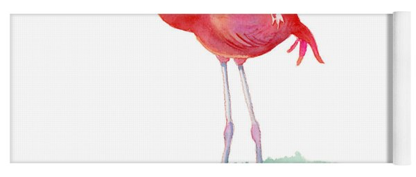 Flamingo Pose Yoga Mat