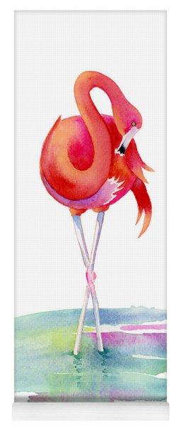 Flamingo Primp Yoga Mat