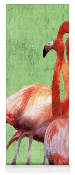 Flamingo Twist Yoga Mat