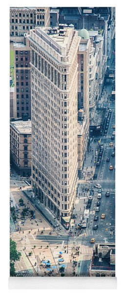 Flat Iron Building Yoga Mat