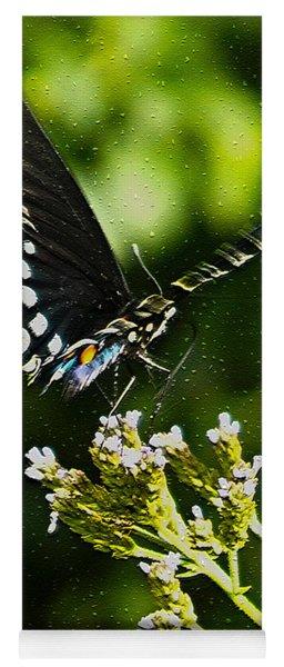 Flattering Flutter Yoga Mat