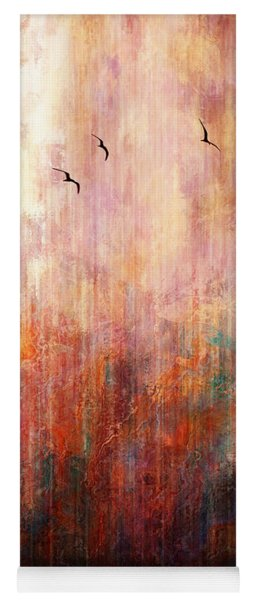 Flight Home - Abstract Art Yoga Mat