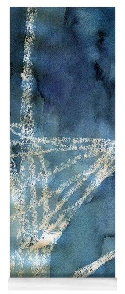 Flight Path- Abstract Painting Yoga Mat