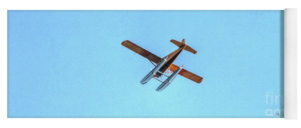 Float Plane Fly Over Pacific Northwest Yoga Mat