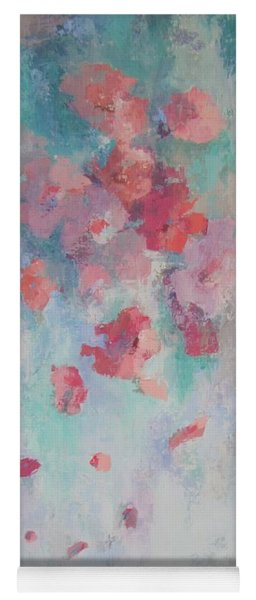 Floating Flowers Painting Yoga Mat