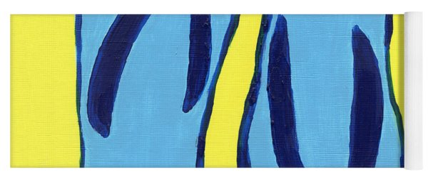 Yoga Mat featuring the painting Flopped by Deborah Boyd
