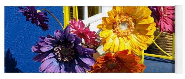 Flores Colores Yoga Mat