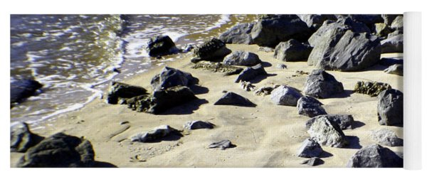 Florida Town Beach Yoga Mat