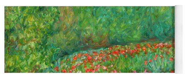 Flower Field Yoga Mat