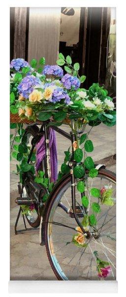 Flower Power Meets Pedal Power  Yoga Mat