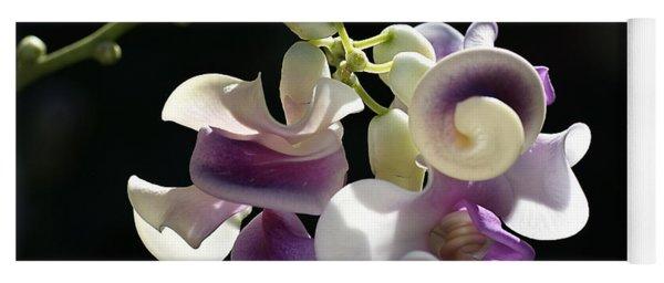 Flower-snail Flower Yoga Mat