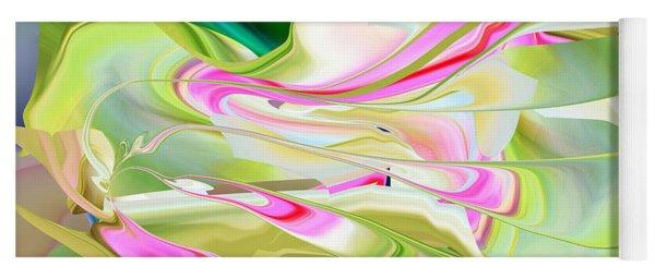 Flower Song Abstract Yoga Mat