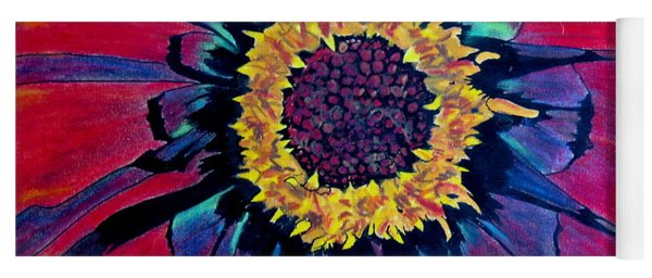 Flowerburst Yoga Mat