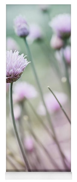 Flowering Chives I Yoga Mat