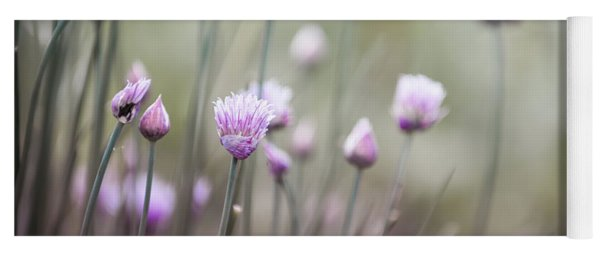 Flowering Chives II Yoga Mat