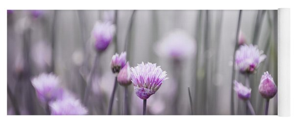 Flowering Chives IIi Yoga Mat