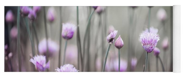 Flowering Chives Iv Yoga Mat