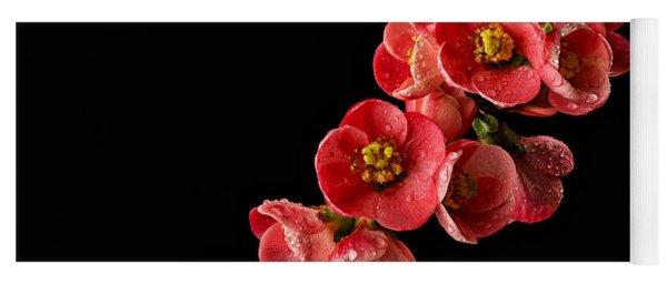 Flowering Quince Yoga Mat