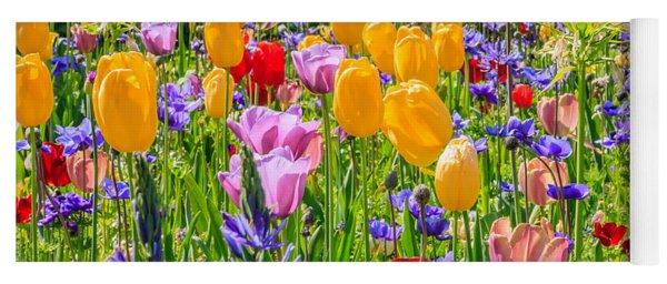 Flowers Everywhere Yoga Mat
