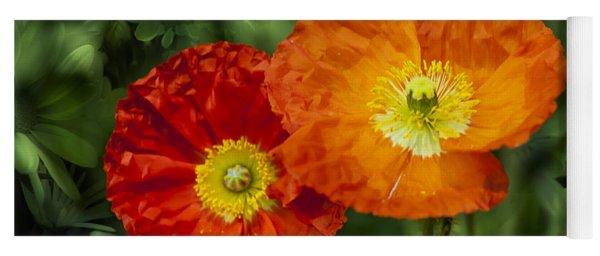 Flowers In Kodakchrome Yoga Mat