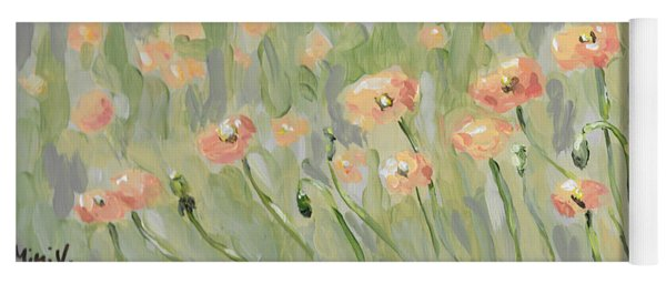 California Poppies Yoga Mat