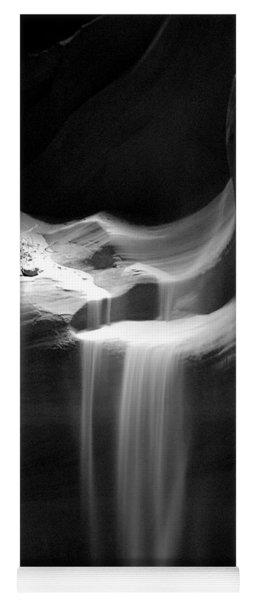 Flowing Sand In Antelope Canyon Yoga Mat