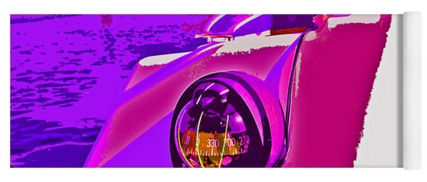 Floyd Pink And Purple Yoga Mat