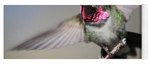 Fluttering Yoga Mat