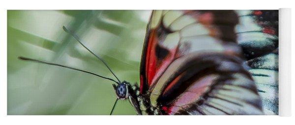 Fluttering Piano Key Butterfly Yoga Mat