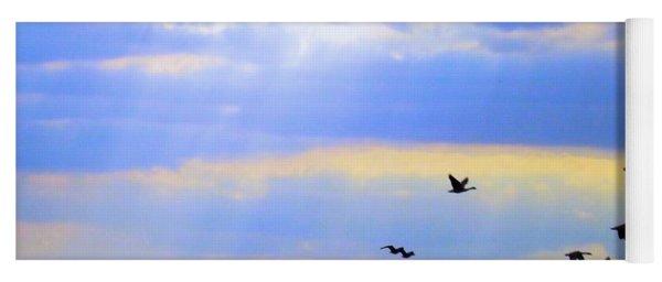 Fly Like The Wind Yoga Mat