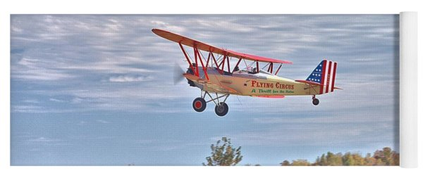 Flying Circus Barnstormers Yoga Mat