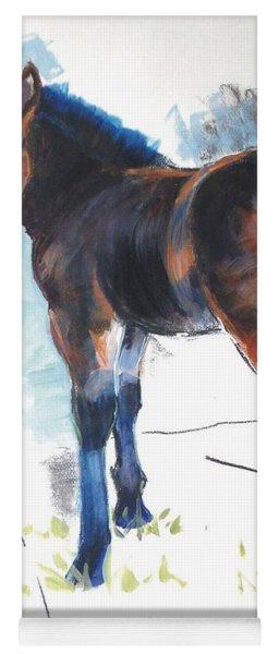 Foal Painting Yoga Mat