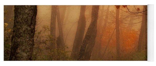 Foggy Autumn Yoga Mat