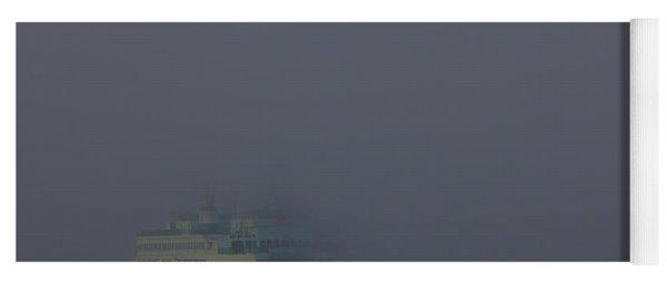 Foggy Ferry Ride Yoga Mat
