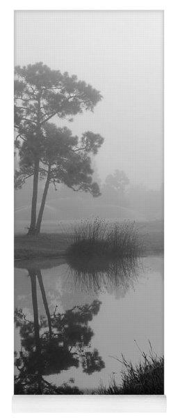 Foggy Morning 2 Yoga Mat