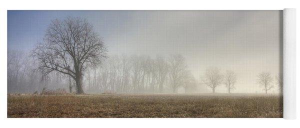 Foggy Morning Yoga Mat