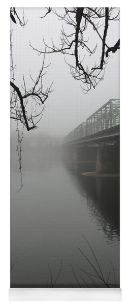 Foggy Morning In Paradise - The Bridge Yoga Mat
